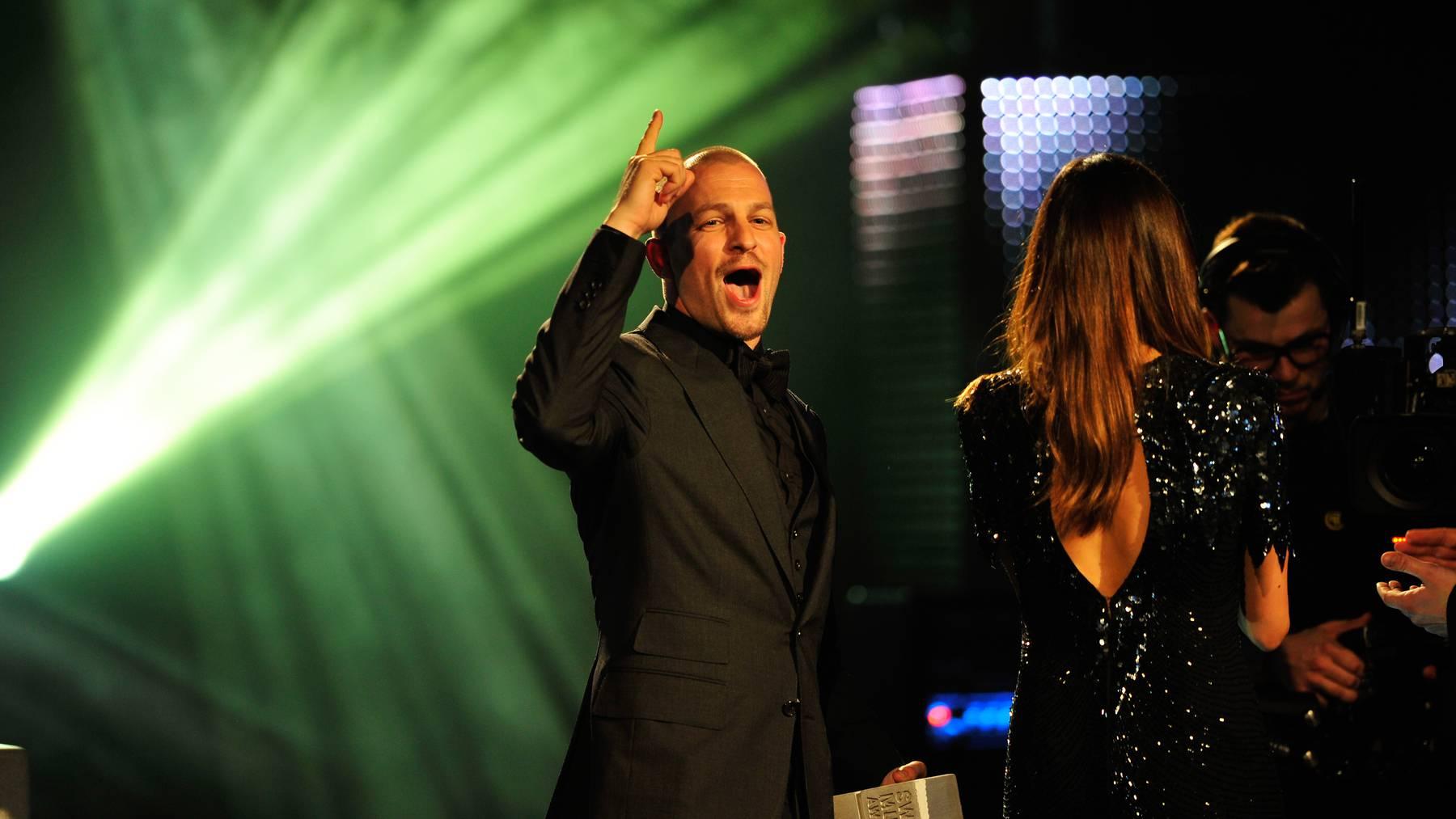 Radio Pilatus und Tele 1 an den Swiss Music Awards