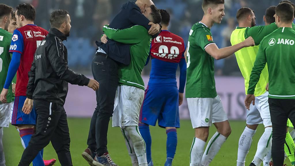 St. Gallen erstmals seit 2012 Leader der Super League
