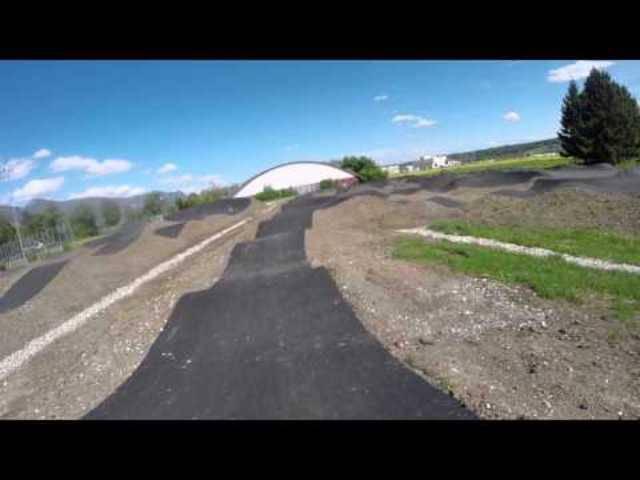 Mit der Helmkamera auf der BMX- und Pumptrack-Anlage in Grenchen