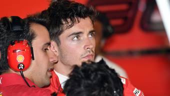 Charles Leclerc sicherte sich für das Heimrennen von Ferrari die Pole-Position