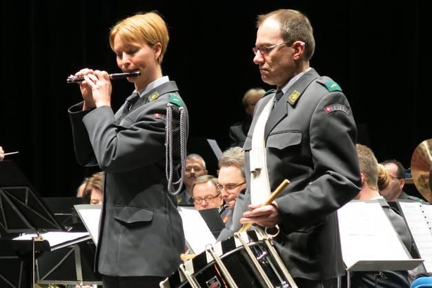 Die ältesten Märsche erklangen nur mit Trommel und Flöte