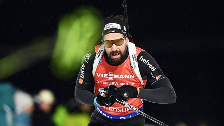 Gut geschossen und schnell gelaufen: Benjamin Weger