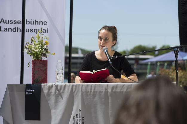 Literaturtage Solothurn Freitag, Sabine Gisin