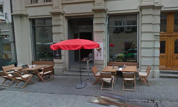 Die Barfüsser-Bar im Zürcher Niederdorf