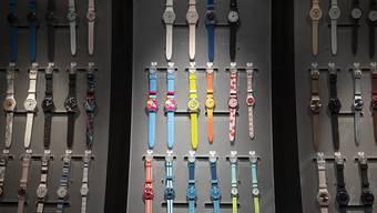 """Uhren """"made in Switzerland"""" sind immer noch begehrt. Im April gingen die Exporte allerdings leicht zurück. (Archivbild)"""