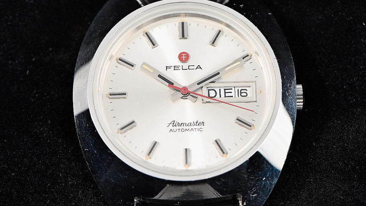 Sammlerobjekt: Felca, Vorgängermarke von Titoni.