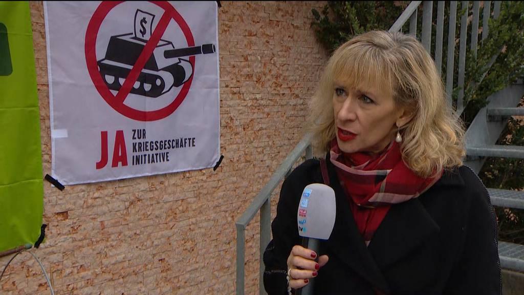 Kriegsgeschäfte-Initiative: «40 % Ja-Stimmen, das muss man ernst nehmen»