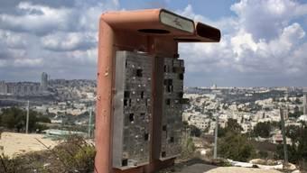 Postfächer ausser Betrieb in Givat Hamatos bei Ost-Jerusalem