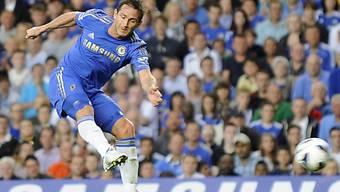 Frank Lampard eröffnete das Skore gegen Reading.