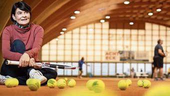 Das Tenniscenter Urdorf stellt die Plätze für den Kurs von Marie-Anne Kouba-Tschudi seit vielen Jahren gratis zur Verfügung.