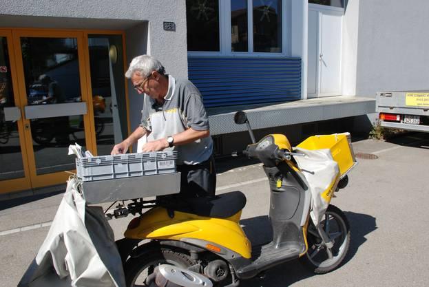 Werner Oggier war 45 Jahre lang Pöstler in Dietikon