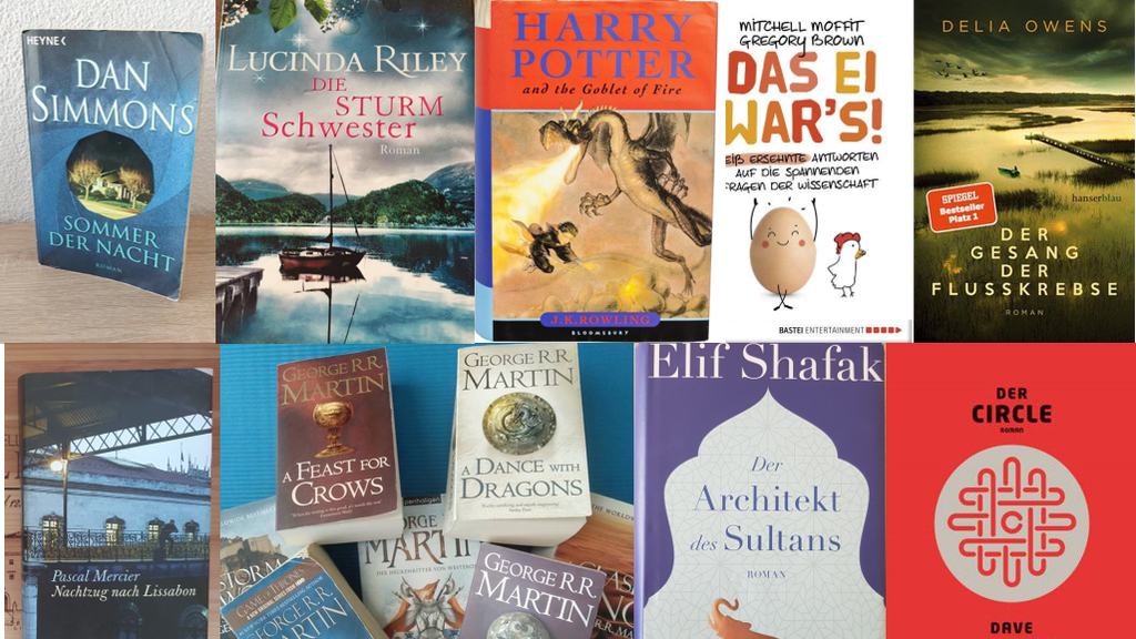 Das sind unsere Lieblingsbücher