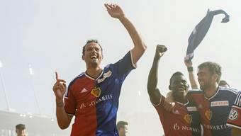 Nach dem YB-Spiel soll gefeiert werden: Für Marco Streller wird es das drittletzte Spiel im St. Jakob-Park sein.