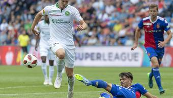 Setzte sich mit St. Gallen gegen seinen ehemaligen Klub Basel durch: Stürmer Cedric Itten