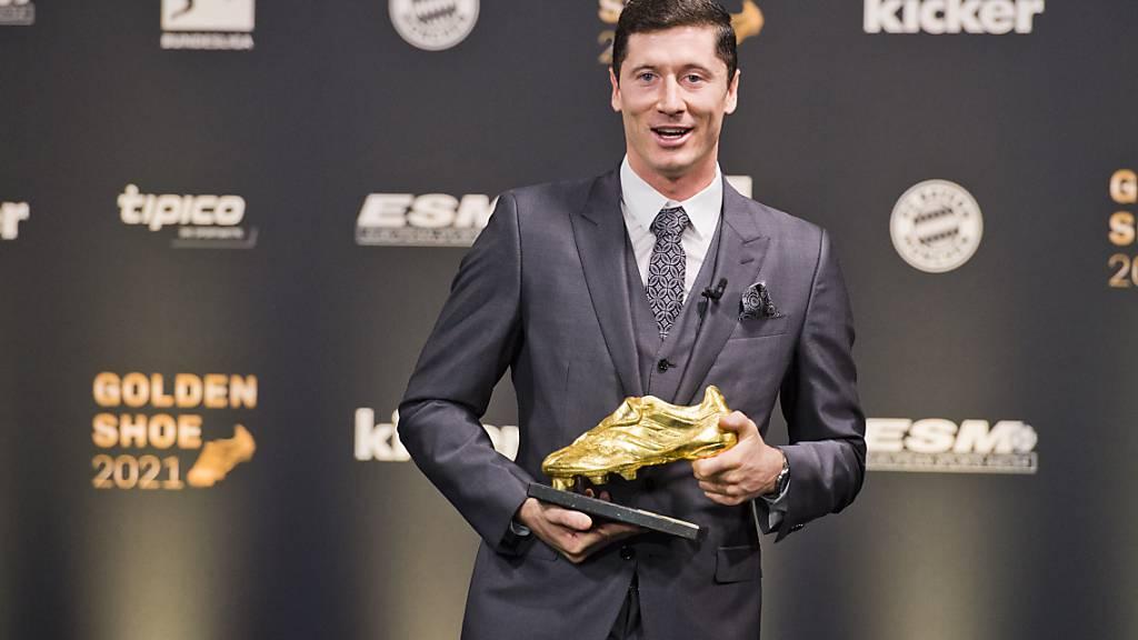 Lewandowski erhält «Goldenen Schuh» für besten Torjäger Europas