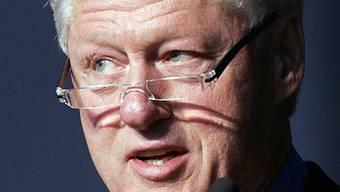 Der frühere US-Präsident Bill Clinton (Archiv)