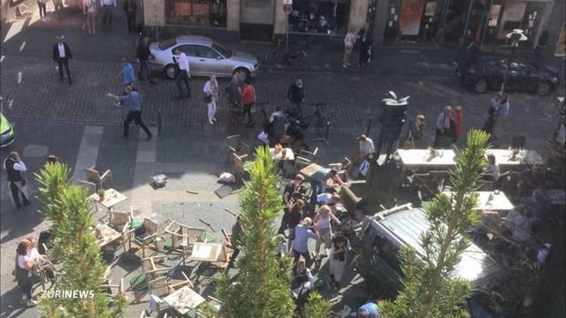 Amokfahrt Münster: Kein Hinweis auf Terror