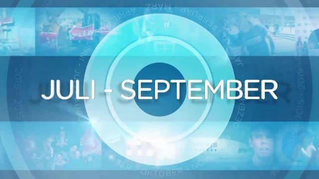 Jahresrückblick: Juli – September
