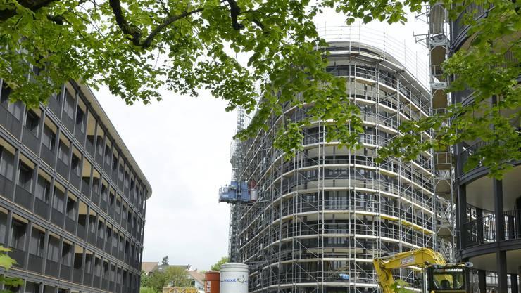 Das Projekt Riva nimmt langsam, aber sicher konkrete Formen an: Im September sind die ersten Wohnungen am Schaffhauserrheinweg bezugsbereit.