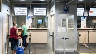 Die langen Wartezeiten an der Passkontrolle am Euro-Airport sind Geschichte