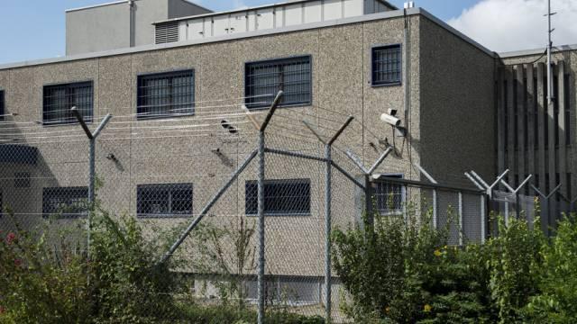 Das Gefängnis in Affoltern am Albis im Kanton Zürich.