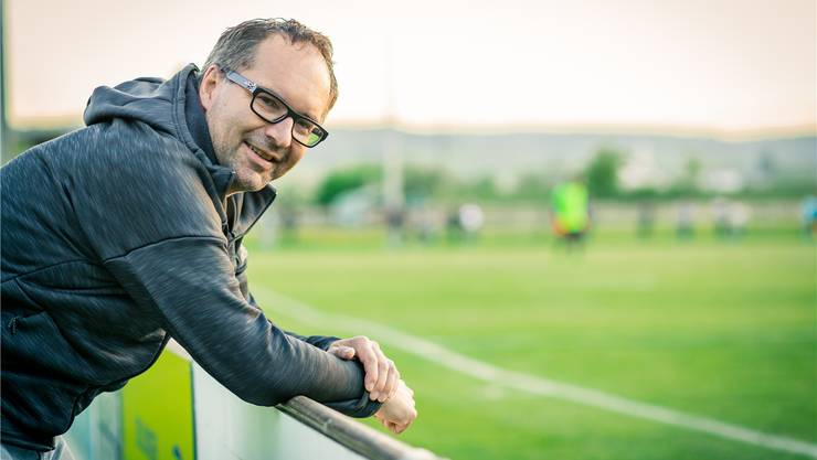 Klingnaus Präsident Roger Meier forderte vom FC Aarau eine Beteiligung am Transfer von Stürmer Varol Tasar. Bild: Chris Iseli