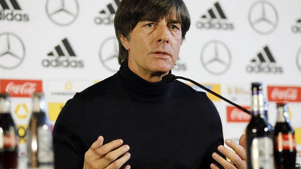 Trainer Joachim Löw verteilte Komplimente, mehr nicht