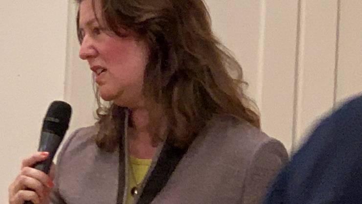 Tatjana C. Disteli leitet die Dienststelle der Spital- und Klinikseelsorge der römisch-katholischen Kirche im Kanton Zürich.