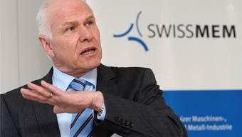 Für Swissmem-Präsident Hans Hess wäre der Bruch mit der EU schlimmer als der Frankenschock.