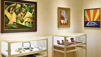 Gestern standen die Werke aus Urs E. Schwarzenbachs Sammlung noch zur inzwischen verbotenen Versteigerung im Auktionshaus Koller bereit.