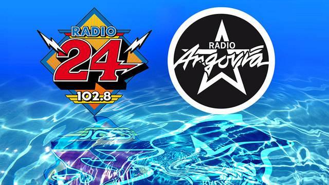 Programm-Fusion von Radio Argovia und Radio 24