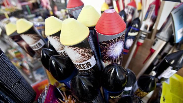 Die Sonnen, Raketen und anderen Feuerwerkskörper müssen diesen 1.August unangezündet bleiben. (Symbolbild)