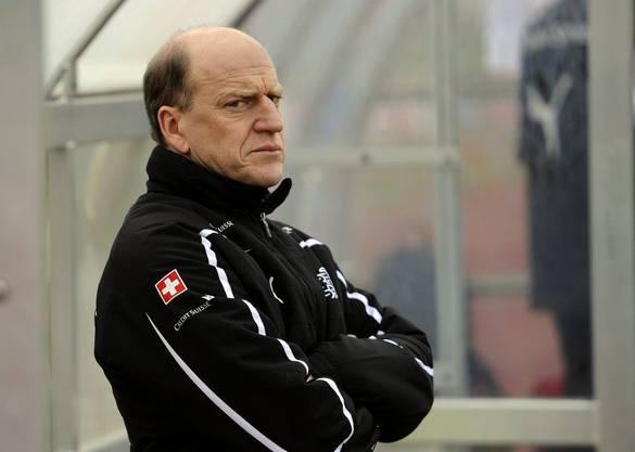 Heinz Moser, Trainer der Schweizer U17