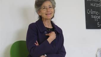 Gesprächsleiterin Eva Schiffer.