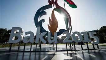 Der Auftritt ist schon jetzt olympisch. Doch vorerst finden in Baku erst die Europaspiele statt.