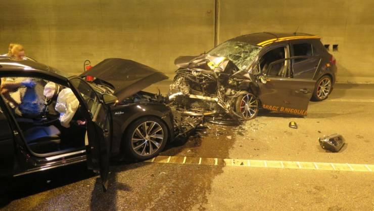 Wie es zum Unfall kam ist noch unklar. Die Baselbieter Polizei hat Ermittlungen aufgenommen.