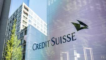 Soll keinen Einfluss auf Dividenden haben: Die Credit Suisse muss wegen dem Kurswechsel einer US-Firma 450 Millionen Dollar abschreiben.