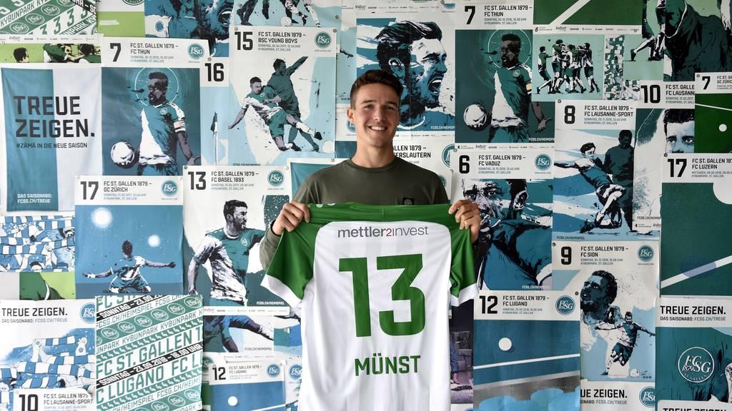 FCSG leiht Mittelfeldspieler von Stuttgart aus