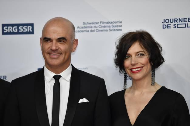 Alain Berset und seine Frau Muriel Zeender Berset