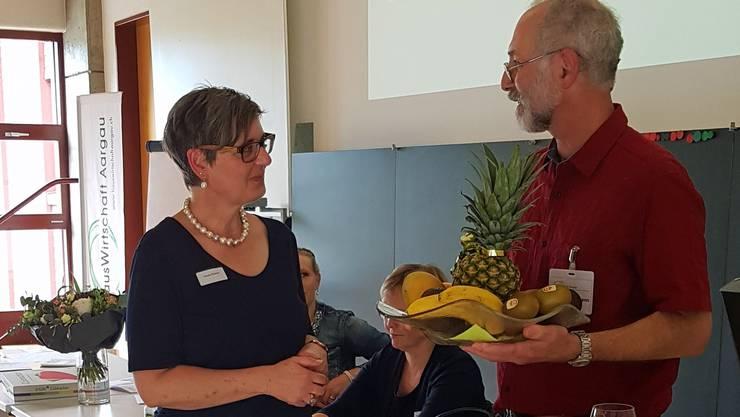 Ursula Richner wird als neues Vorstandsmitglied willkommen geheissen