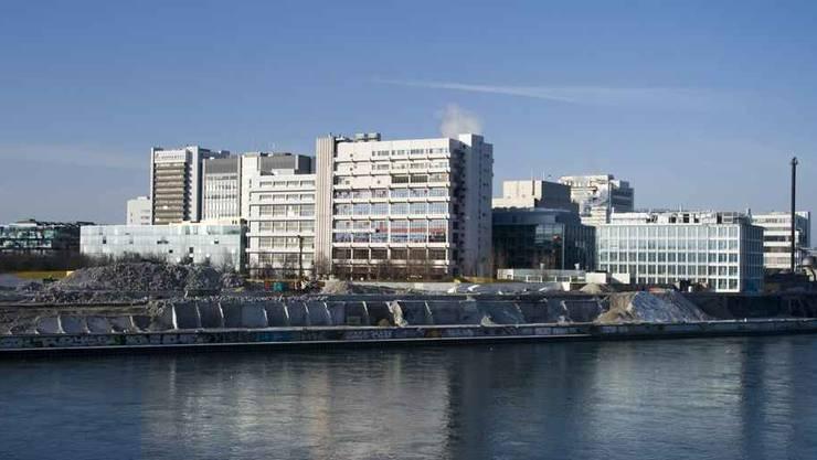 Ausländische Zuwanderung sorgt für Bevölkerungswachstum in Basel. Im Bild der Novartis-Campus.