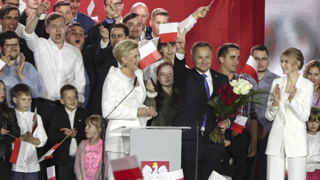 Präsidentenwahl in Polen: Trzaskowski gratuliert Duda zum Sieg