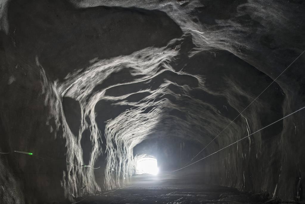 Das Bergwerk Gonzen (© Keystone)