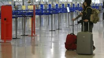 Wegen des Streiks gibt es kein Weiterkommen am Flughafen in Athen