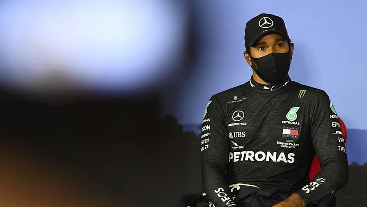 Lewis Hamilton war im Qualifying im Regen eine Klasse für sich