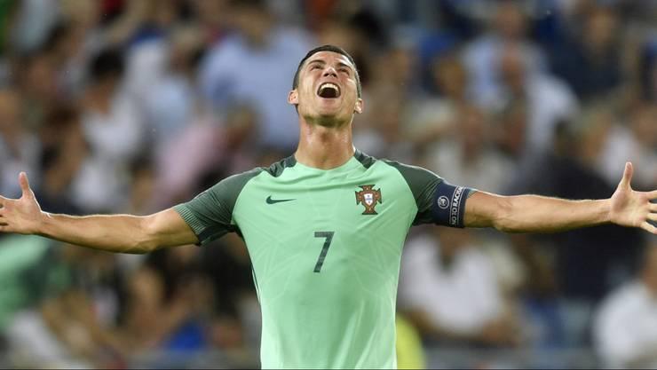 Cristiano Ronaldo wird in Basel fehlen.