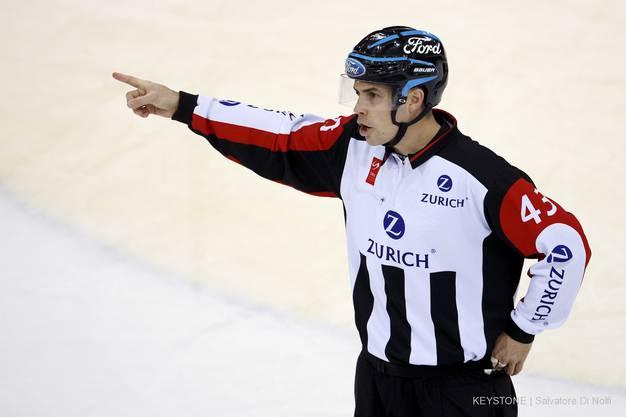 Selbstkritisch: Schiedsrichter Andreas Koch.