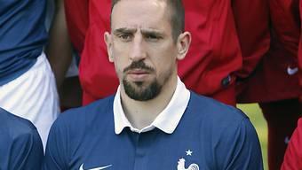 Ribéry musste wegen Rückenproblemen für Brasilien Forfait geben