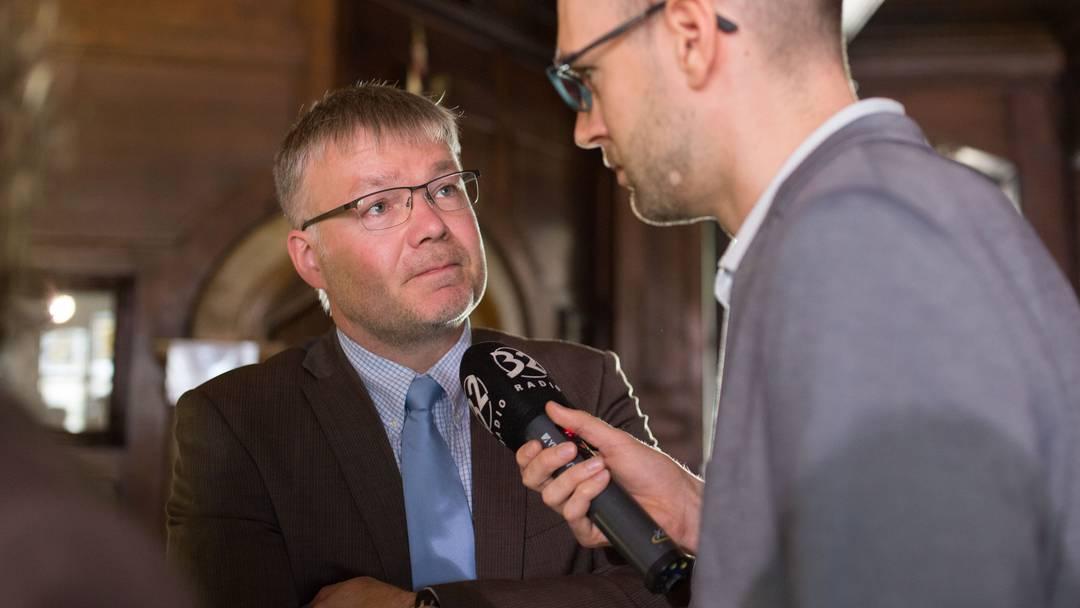 FDP-Parteipräsident Scheuermeyer: «Wir sind enttäuscht.»