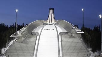 Skisprungschanze am Holmenkollen in Oslo